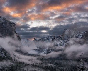 Clearing Storm Sunrise, Yosemite
